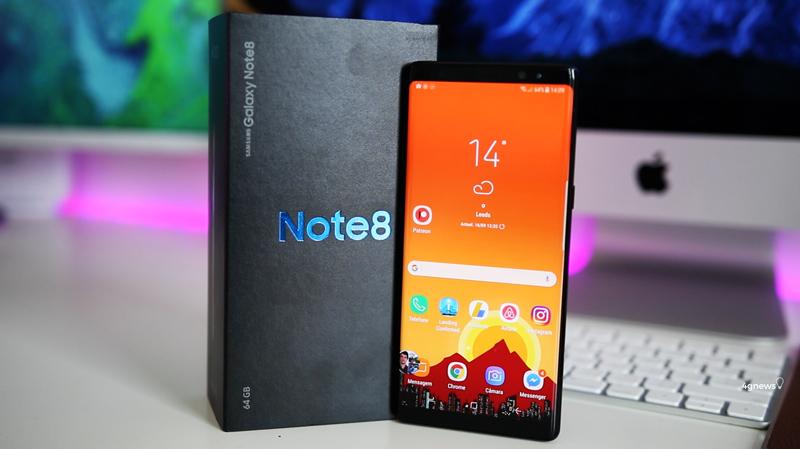 Finalmente o Android Oreo está a chegar aos Samsung Galaxy Note 8