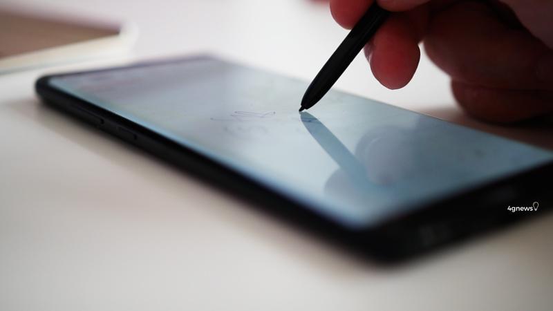 Samsung Galaxy Note 8 Atualização segurança Android