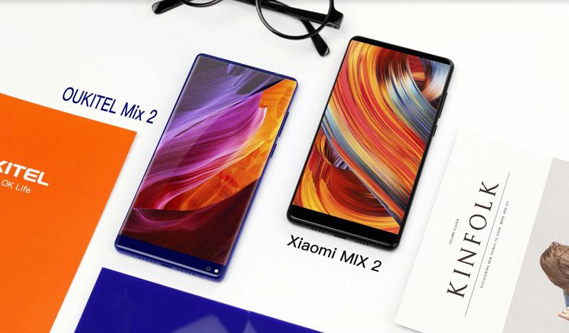 Oukitel compara o Oukitel Mix 2 ao Xiaomi Mi Mix 2 (vídeo)