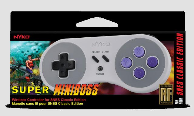 SNES Classic irá ter controladores sem fio construído pela Nyko