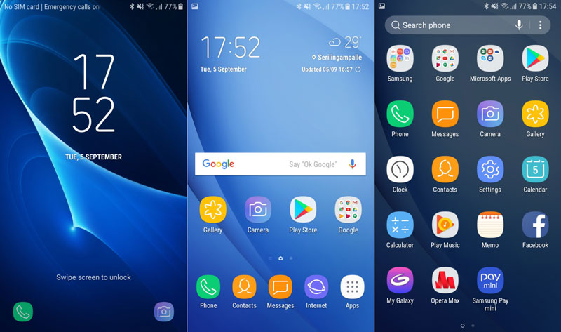 Samsung Galaxy J5 2016 e J7 ganham nova Interface no Android Nougat