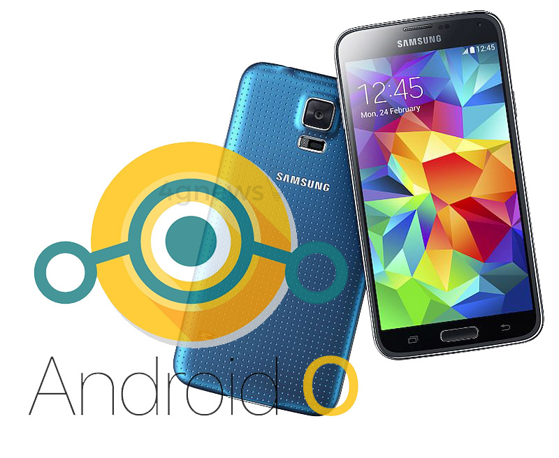 Samsung Galaxy S5 Android Oreo LineageOS 15