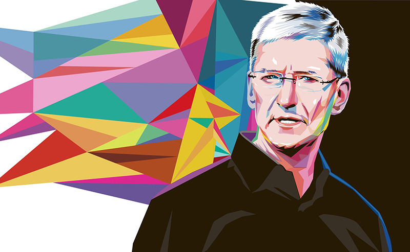 Tim Cook Apple CEO Apple iPhone X Android