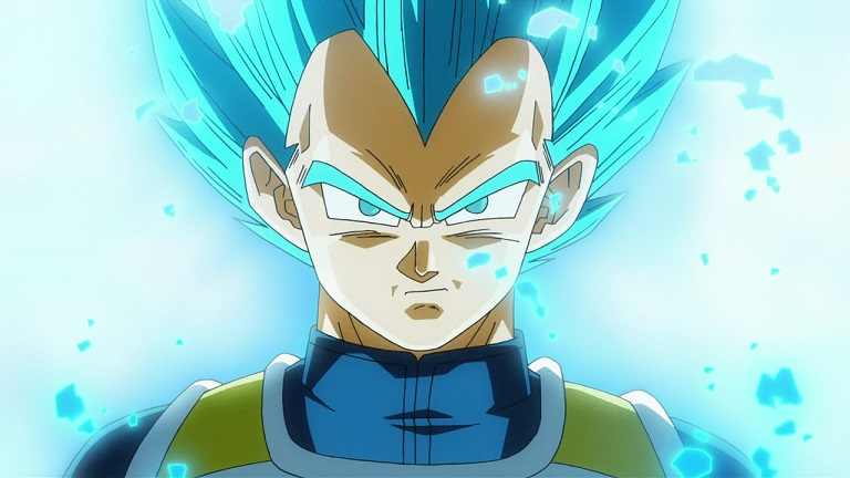 Vegeta Goku Dragon Ball Super