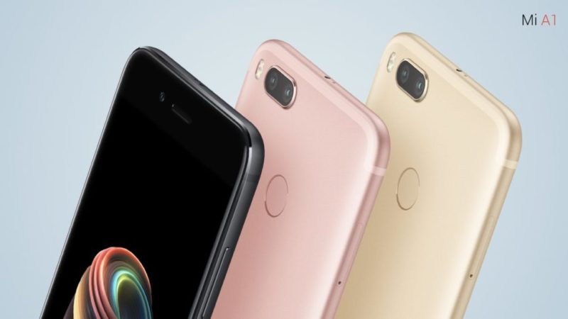 Xiaomi Mi A1 Android One update