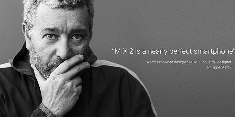 Xiaomi Mi Mix 2 Special Edition smartphone