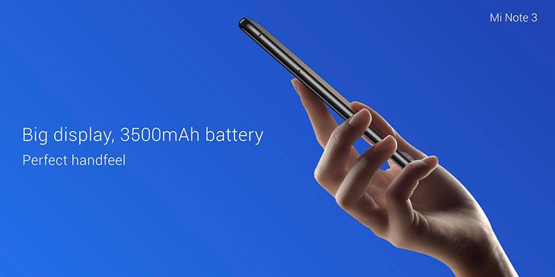 Xiaomi Mi Note 3 Snapdragon 660