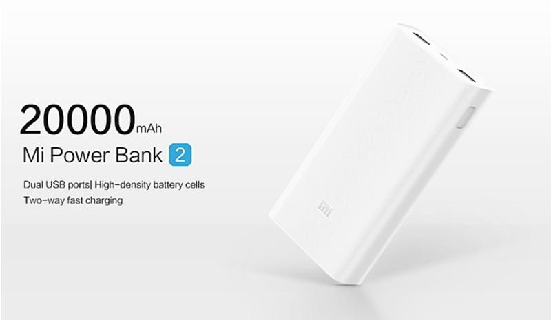 Xiaomi Powerbank: 20.000 mAh é o que precisas para qualquer gadget