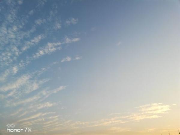 Imagem alegadamente captada pela dual-câmara do Honor 7X