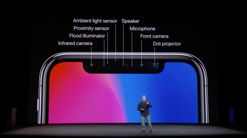 Face ID Apple iPhone X