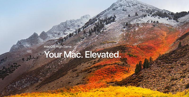 macOS High Sierra Apple