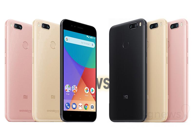 smartphone Xiaomi Mi 5X Xiaomi Mi A1 Mi 5X