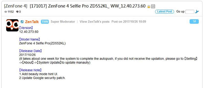 ASUS Zenfone 4 Android ASUS Zenfone 3