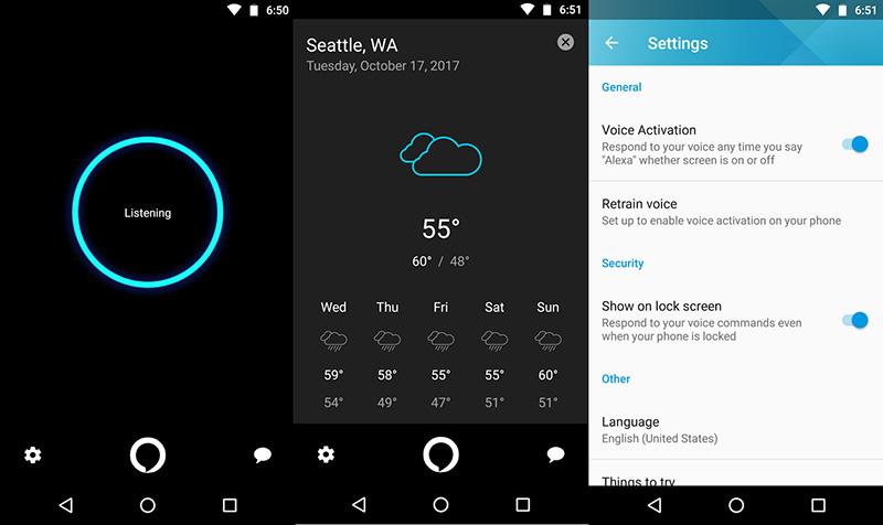 Alexa Motorola Moto X4 Google Play Store