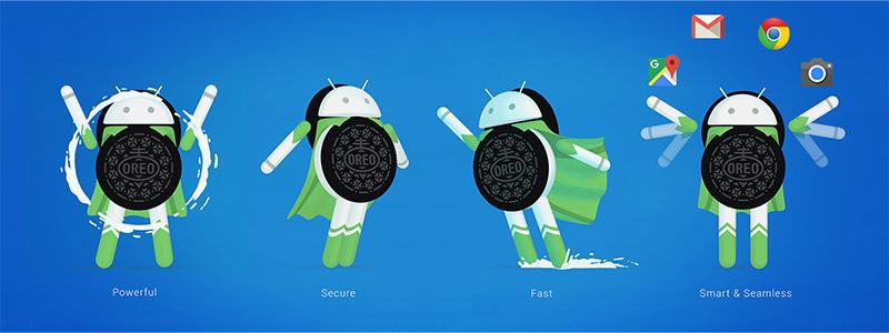 Android Oreo Top recursos