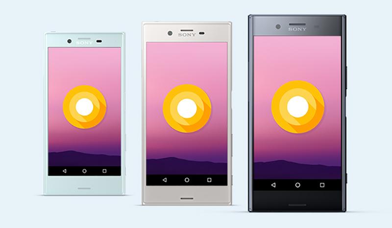 Android Oreo Sony AOSP