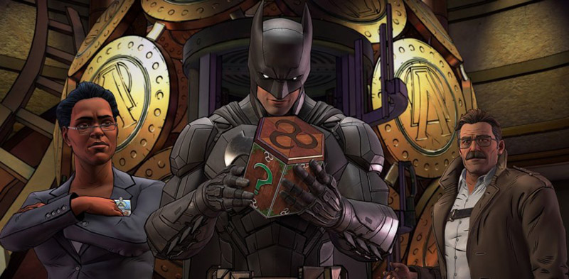 Batman: The Enemy Within Android Google Play Store
