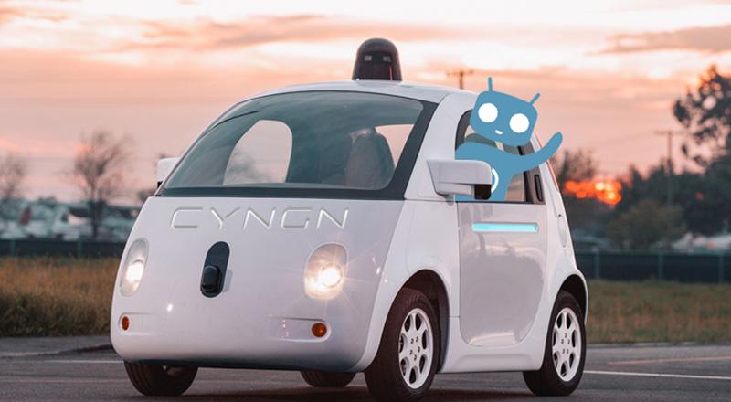 veículos autónomos Cyanogen Cyngn