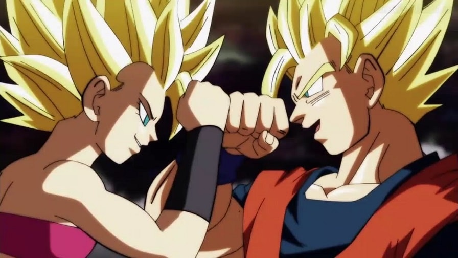 Dragon Ball Super Caulifla Goku