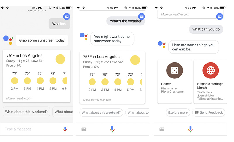 Apple iOS Google Assistant iPhone