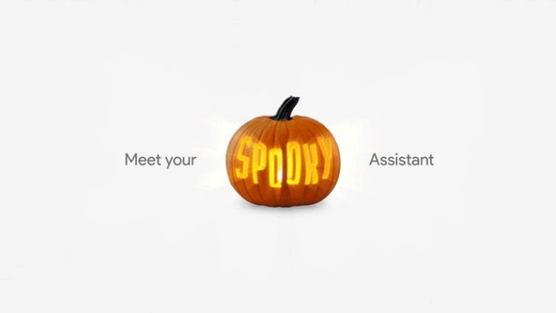 Google Assistant Halloween