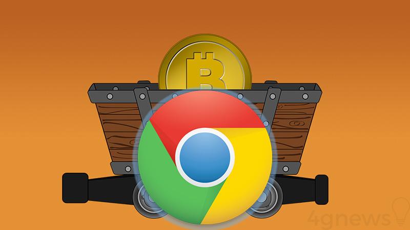 Google Chrome BitCoin mineração