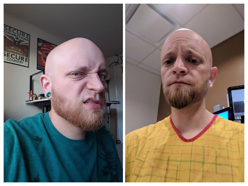Google Fotos Antes & Depois