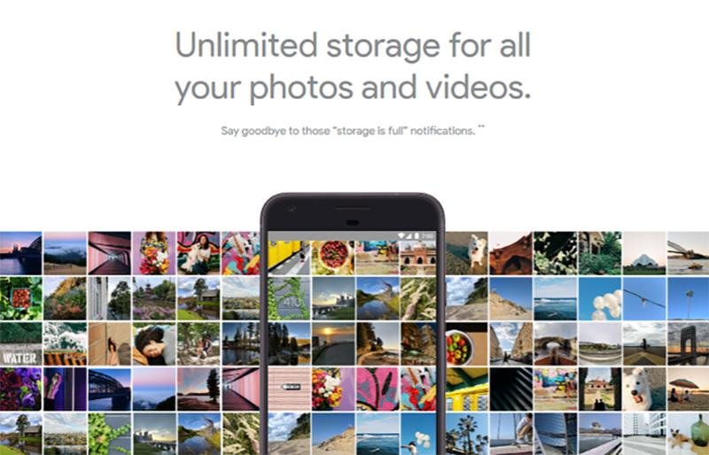 Google Fotos Google Pixel XL