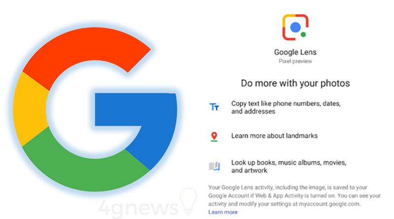Google Lens Google Pixel XL