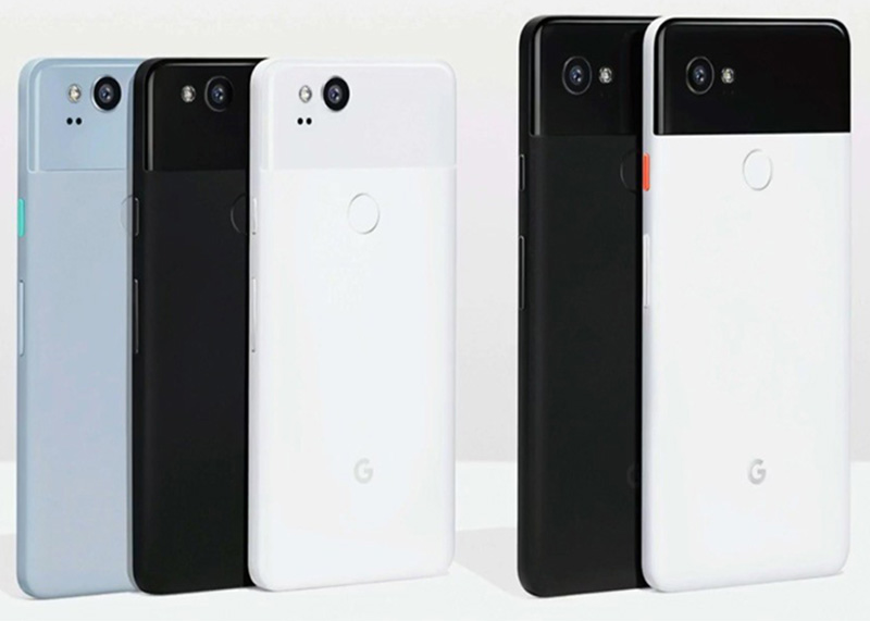 Google Pixel 2 e Google Pixel 2 XL