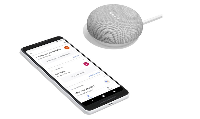 Google Home Mini Android Apple