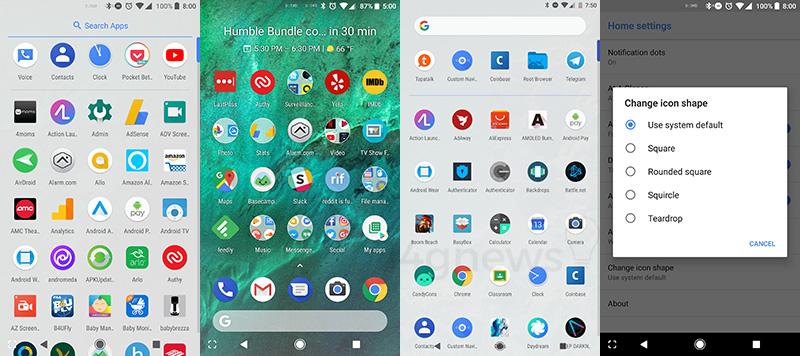 Google Pixel 2 Launcher Smartphone Android