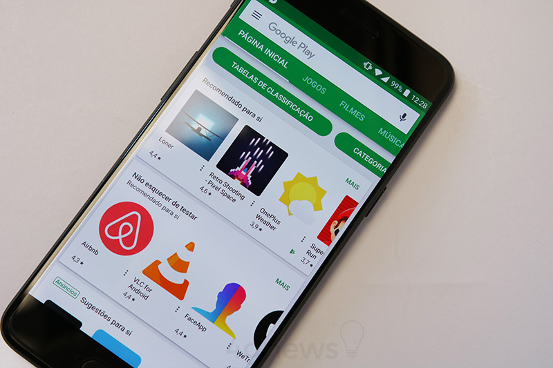 Programa de recompensas Google Play Store Material Design