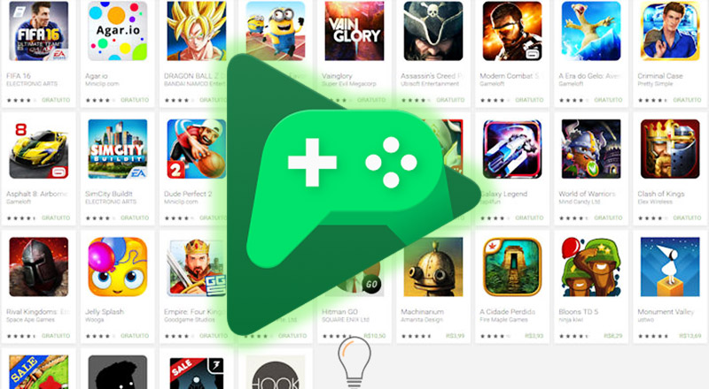 Google Play Store Android Jogos