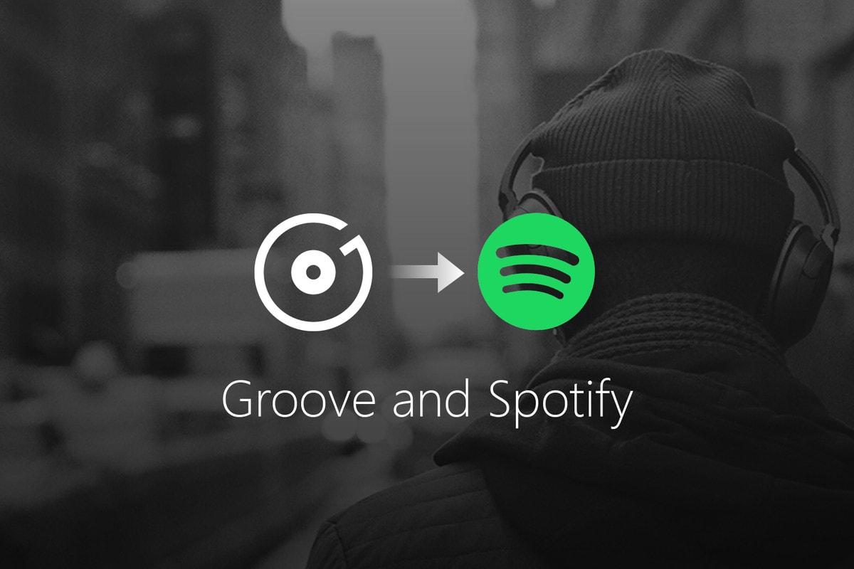 Groove Music Spotify Apple Music Microsoft