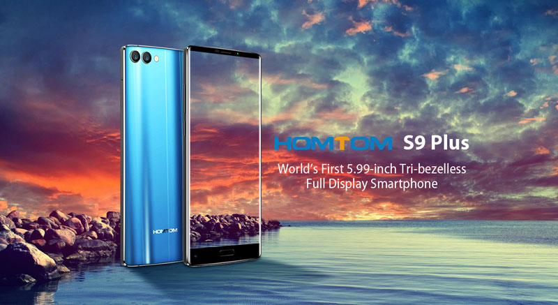 HomTom S9 Plus - Design deslumbrante num phablet de 150€