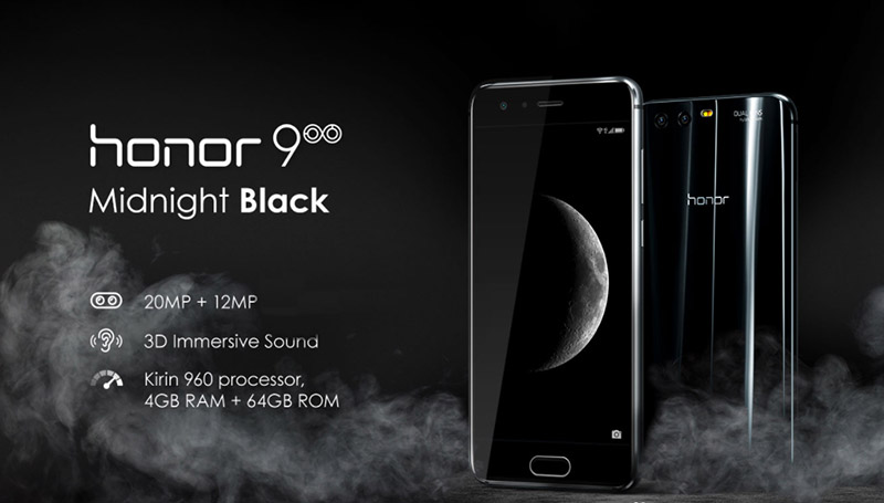 Honor 9 Midnight Black