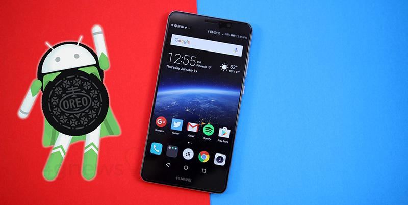 atualização Huawei Mate 9 Android Oreo