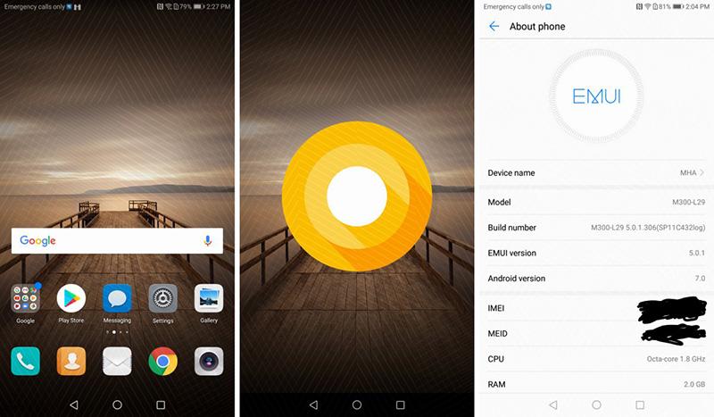 Huawei Mate 9 Android Oreo
