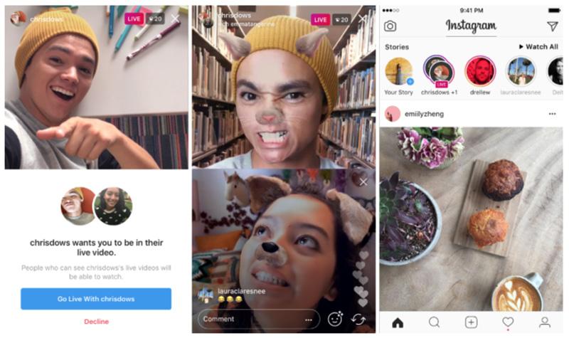 Instagram - Agora já podes fazer Transmissões ao Vivo com amigos