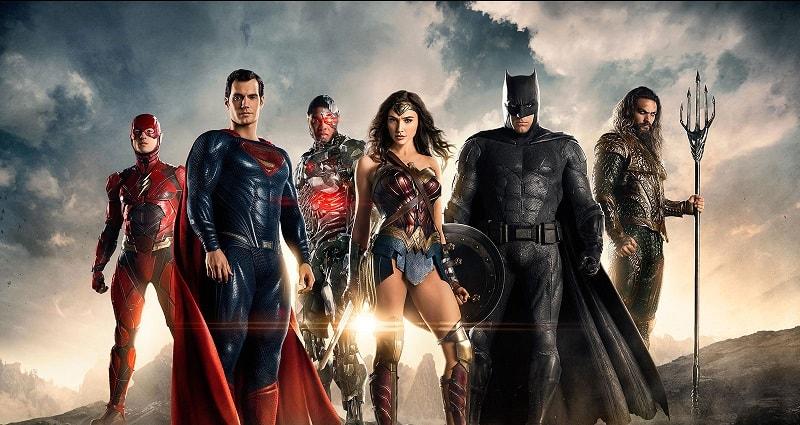 Justice League Filme Wonder Woman Batman
