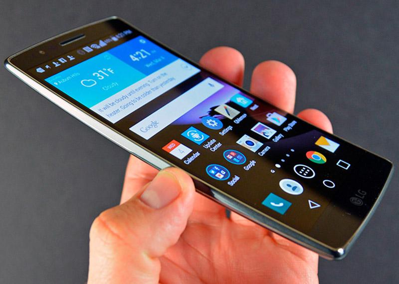 LG processadores Android Smartphones