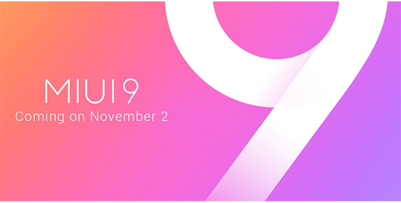 MIUI 9 versão estável global Xiaomi