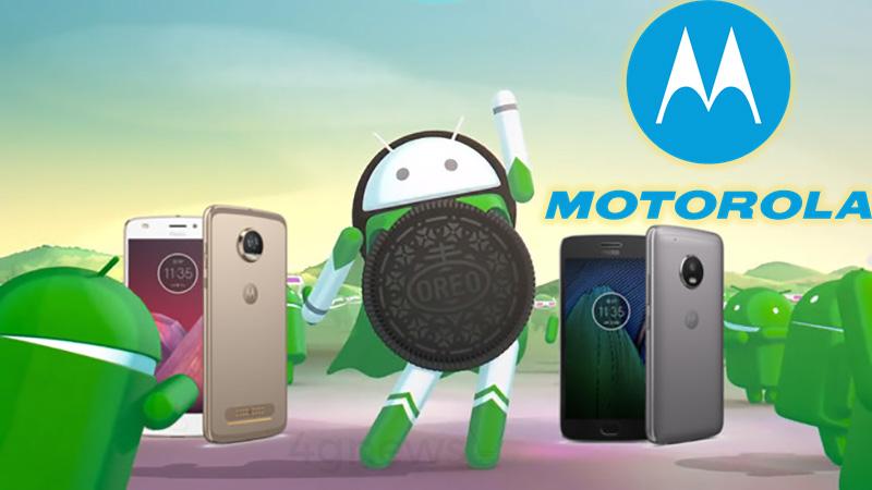 Motorola Android Oreo update atualização