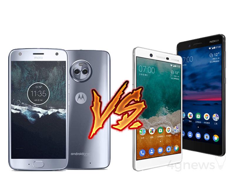 Motorola Moto X4 Nokia 7