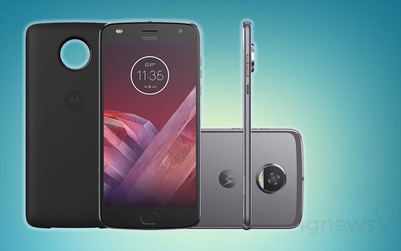 Motorola Moto Z2 Play atualização