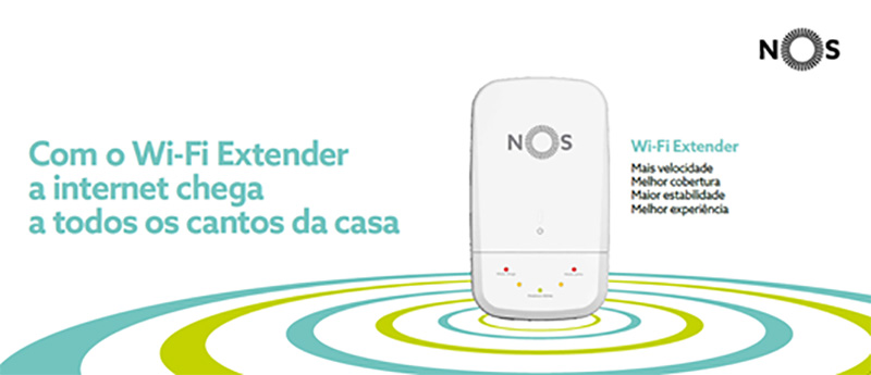 NOS Wi-Fi extender