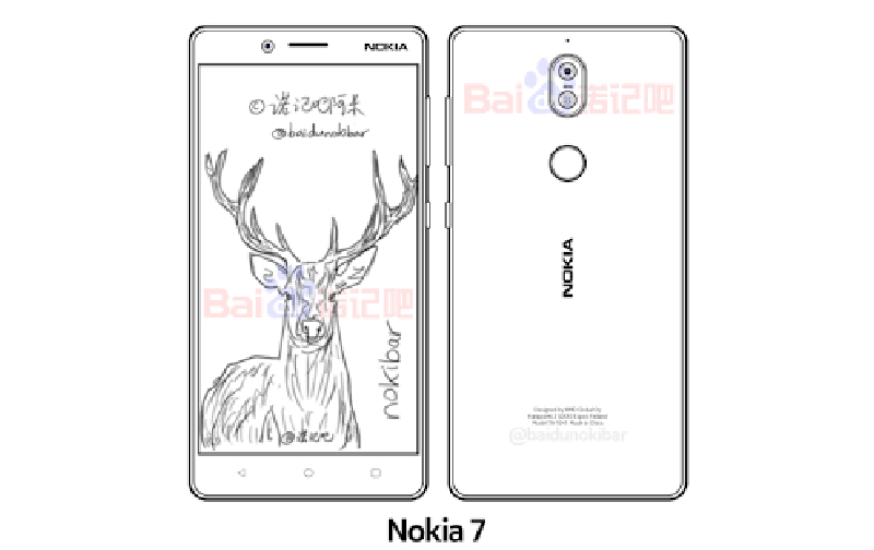 Nokia 7 Android smartphone HMD