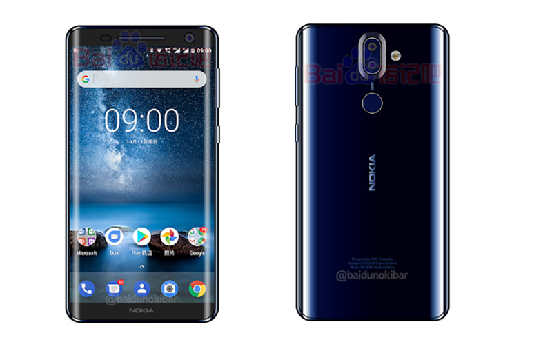 Nokia 9 Smartphone Android