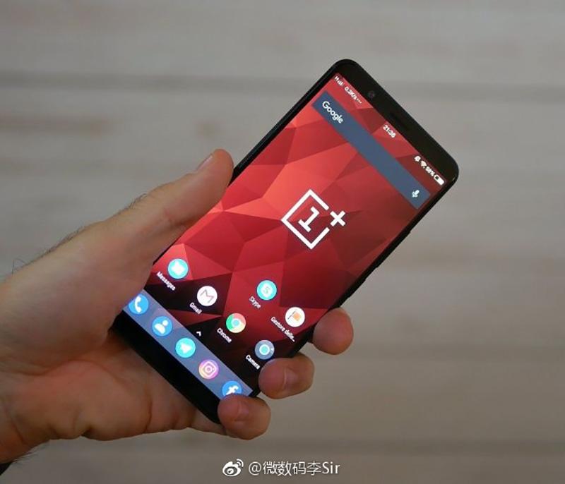 OnePlus 5T imagem real